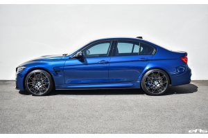 2018 Individual Avus Blue F80 M3 Competition - 3D Design Carbon Fiber Rear Diffuser