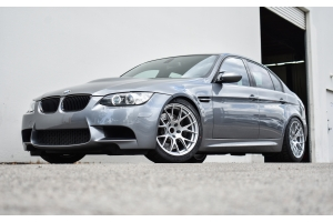 2010 Space Grey E90 M3 - Ohlins DFV Coilovers & Titan7 TS-7s