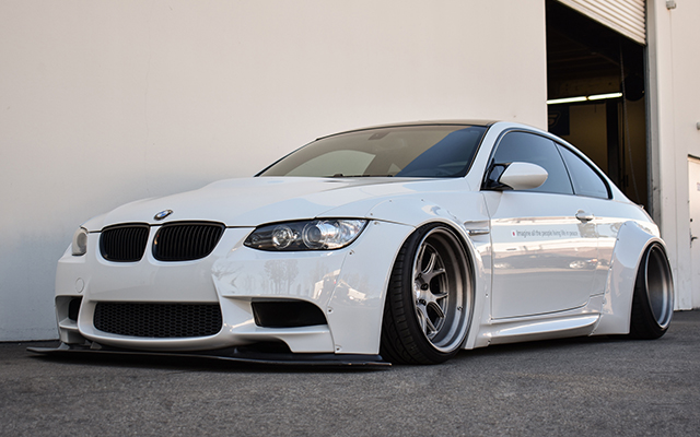 Alpine White E92 M3 - Liberty Walk