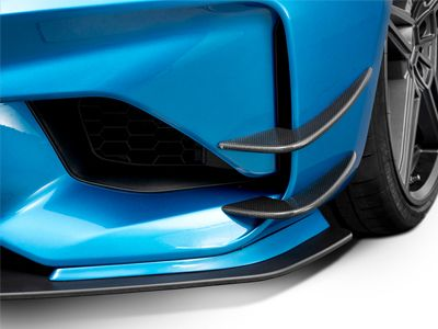AC Schnitzer - Carbon Fiber Front Side Wings - BMW F87 M2