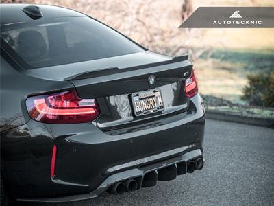 Autotecknic - Carbon Fiber Competition Trunk Spoiler - BMW F87 M2/M2C & F22 2-Series