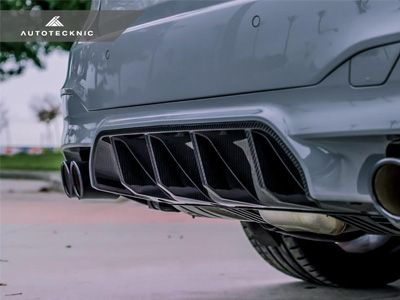 Autotecknic - Dry Carbon Fiber Competition Rear Diffuser - BMW F90 M5