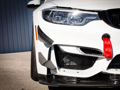 AutoTecknic - Dry Carbon Fiber Competition Brake Air Ducts - F8X M3/M4