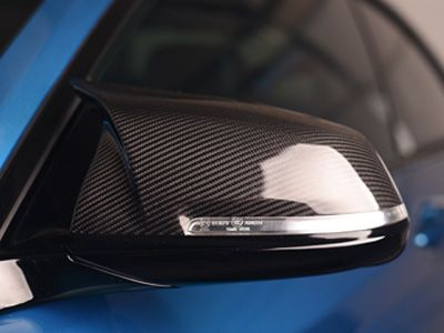 AutoTecknic - M-Inspired Version II Dry Carbon Fiber Mirror Covers - AutoTecknic - M-Inspired Carbon Fiber Mirror Covers - BMW F87/F20/F21/F22/F23/F30/F31/F32/F33/F36