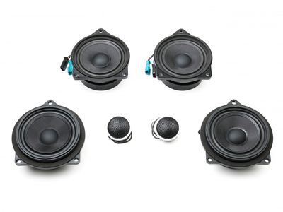 BAVSOUND - Stage 1 Premium Speaker Upgrade Kit - BMW F30/F31 3-Series