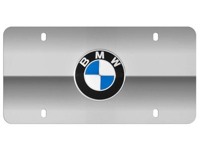 BMW - Stainless Steel Marque Plate - BMW Roundel