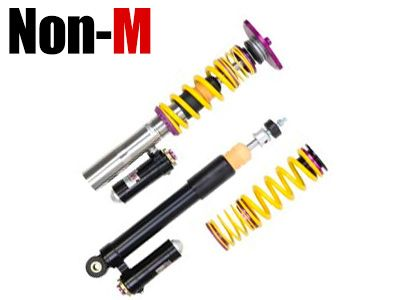 KW - Clubsport 3-Way Adjustable Coilover System - BMW Non-M Models