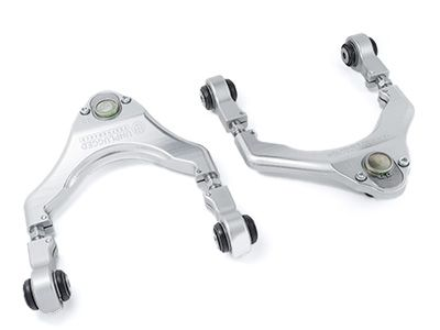 Unplugged Performance - Ultimate Edition Front Upper Control Arms - Tesla Model 3 & Model Y