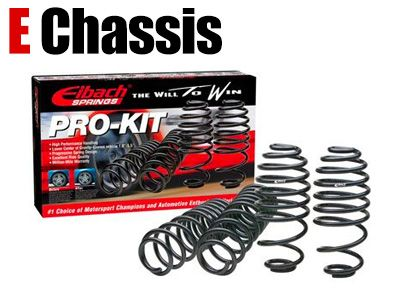 Eibach - Pro-Kit Lowering Springs - BMW E Chassis