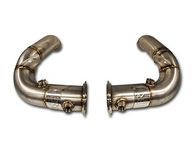 "Evolution Racewerks - Competition Series 3"" Catless Downpipes - BMW F10 M5 & F12/F13/F06 M6"