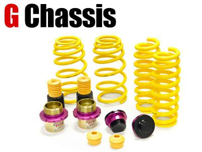 KW - HAS Height Adjustable Lowering Spring Sleeve-Over Kit - BMW G Chassis