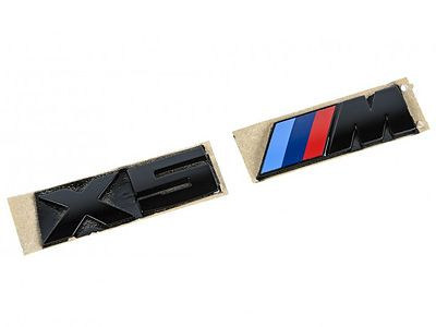 iND - Painted Trunk Badge - BMW E70 X5M