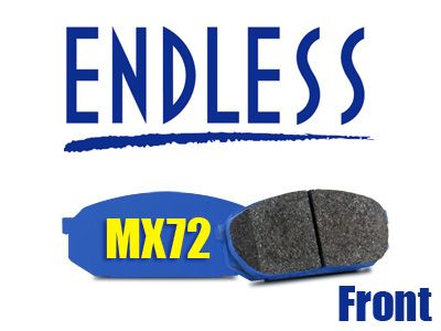 Endless - MX72 Street / Track Compound Brake Pads - Front