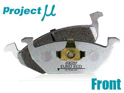 Project Mu - Euro Eco Brake Pads - Front