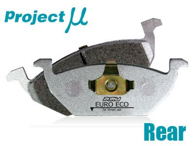 Project Mu - Euro Eco Brake Pads - Rear