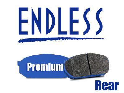 Endless - Premium Street Compound Brake Pads - Rear