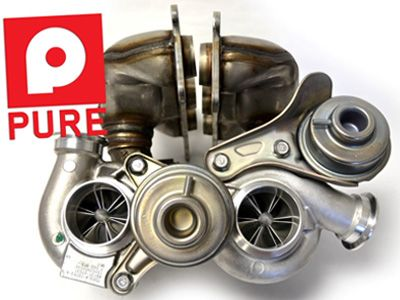 Pure Turbos - Stage 2 Turbo Upgrade - BMW N54