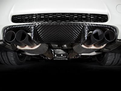 RKP - Carbon Fiber Race Rear Diffuser - BMW E9X M3