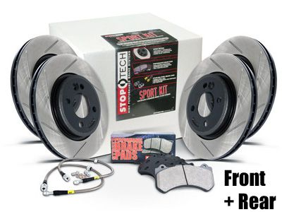 StopTech - Sport Brake Upgrade Kit - Front & Rear
