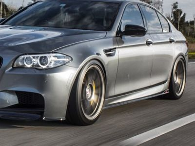 Dinmann - Carbon Fiber Type 1 Side Skirts - BMW F10 M5