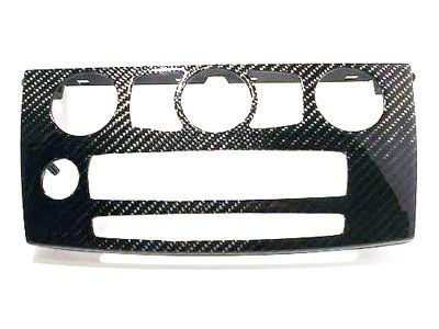 Dinmann - Carbon Fiber HVAC Trim - BMW E60 5-Series & M5