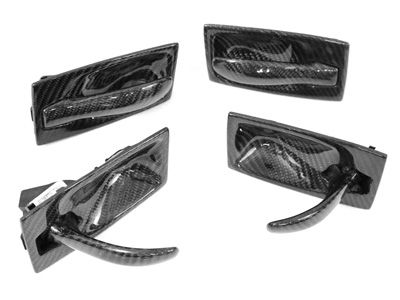 Dinmann - Carbon Fiber Door Handles - BMW E60 5-Series & M5