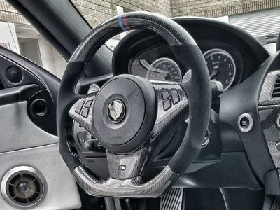 Dinmann - Carbon Fiber Steering Wheel - BMW E6X 5-Series/M5 & 6-Series/M6