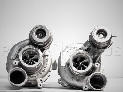 Pure Turbos - Stage 2 Turbo Upgrade - BMW S63/S63tu