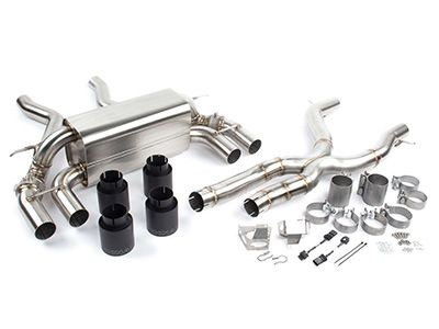 Dinan - Free Flow Stainless Axle-Back Exhaust System & X-Pipe - BMW F87 M2C