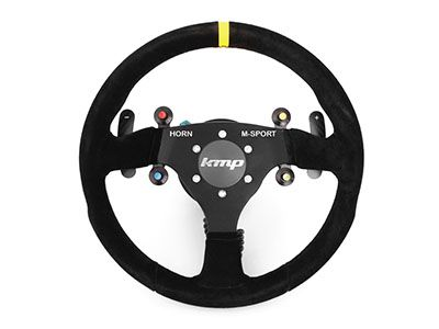 KMP - Alcantara Racing Steering Wheel - BMW E9X M3 DCT