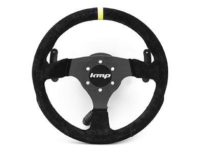 KMP - Alcantara Racing Steering Wheel - BMW E46 3-Series & M3