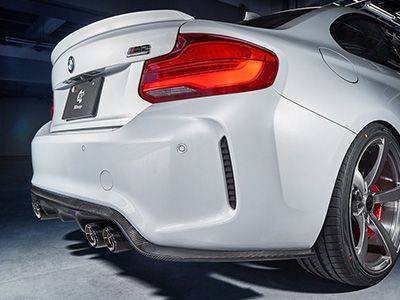 3D Design - Carbon Fiber Rear Diffuser Type 2 - BMW F87 M2 & M2C