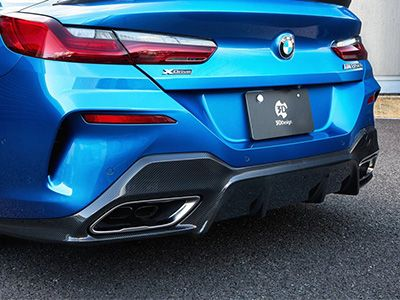 3D Design - Carbon Fiber Rear Diffuser - BMW G14/G15 8-Series