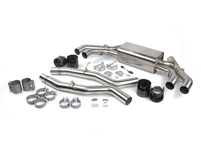Dinan - Valved Stainless Axle-Back Exhaust System - BMW F97 X3M & F98 X4M