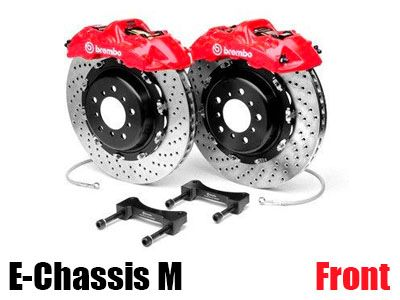 Brembo - GT Big Brake Kit (BBK) for BMW E-Chassis M Vehicles - Front