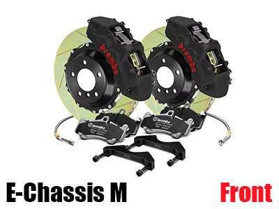 Brembo - GT-S Big Brake Kit (BBK) for BMW E-Chassis M Vehicles - Front