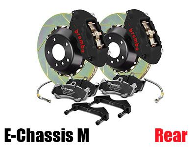 Brembo - GT-S Big Brake Kit (BBK) for BMW E-Chassis M Vehicles - Rear