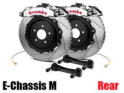 Brembo - GT-R Big Brake Kit (BBK) for BMW E-Chassis M Vehicles - Rear