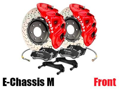 Brembo - B-M Big Brake Kit (BBK) for BMW E-Chassis M Vehicles - Front