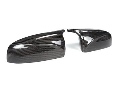 Autotecknic - Carbon Fiber M-Inspired Mirror Covers - BMW E70 X5 & E71 X6