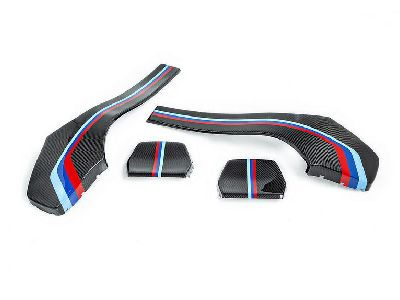 iND - Painted Dry Carbon Seat Back Cover Set - BMW F8X M3 & M4