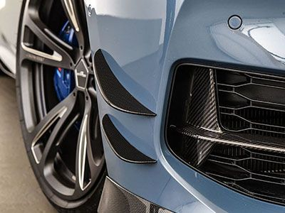AC Schnitzer - Carbon Fiber Front Side Wings - BMW G14/G15/G16 8-Series