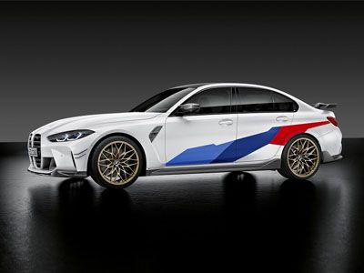 BMW - M Performance Car Wrapping Decals - BMW G80 M3