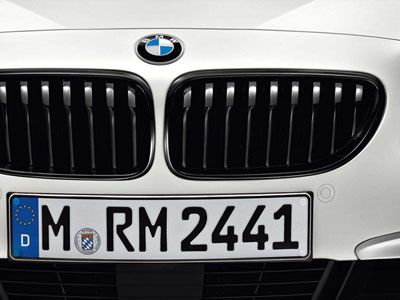 BMW - M Performance Gloss Black Kidney Grilles - BMW F12/F13/F06 6-Series LCI