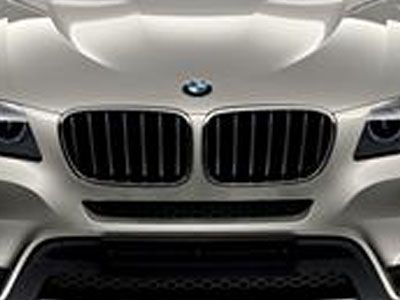 BMW - M Performance Gloss Black Kidney Grilles - BMW E84 X1