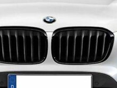 BMW - M Performance Gloss Black Kidney Grilles - BMW F48 X1