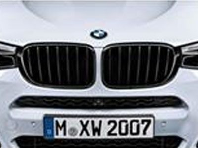 BMW - M Performance Gloss Black Kidney Grilles - BMW F25 X3 LCI & F26 X4