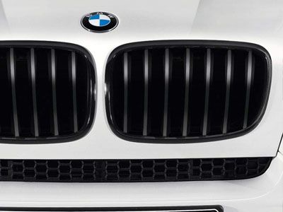 BMW - M Performance Gloss Black Kidney Grilles - BMW E70 X5/X5M & E71 X6/X6M