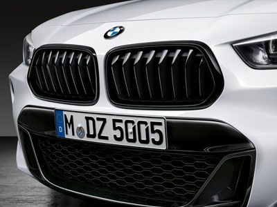 BMW - M Performance Gloss Black Kidney Grilles - BMW F39 X2