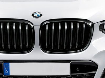BMW - M Performance Gloss Black Kidney Grilles - BMW G01 X3 & G02 X4